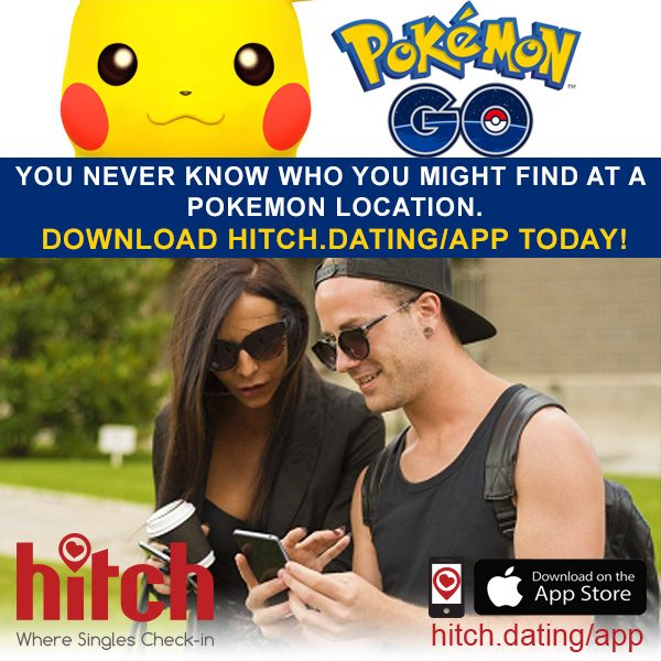 Pokemon Go | Where Singles Check In | Free Dating App