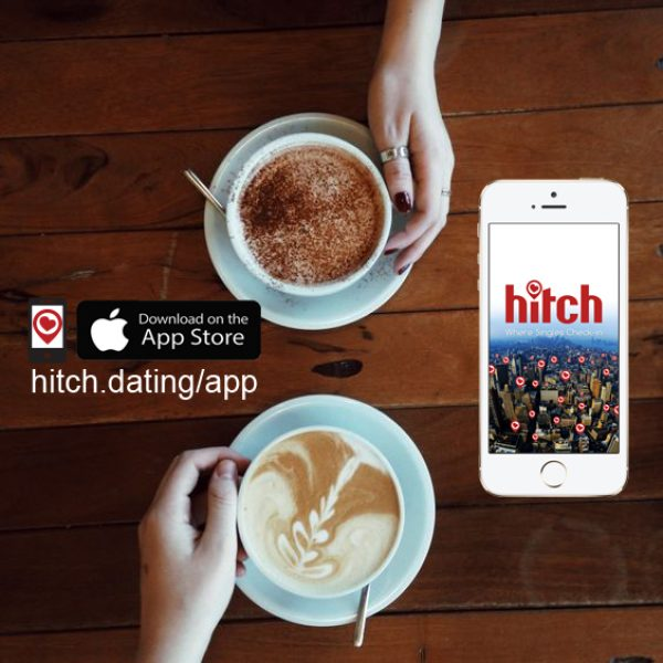 Hitch Dating App | Coffee dating photo